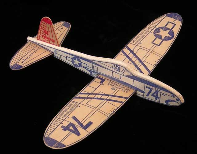 balsa model plane