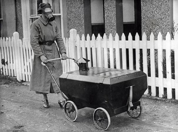 01-woman-with-a-gas-resistant-pram-england-1938
