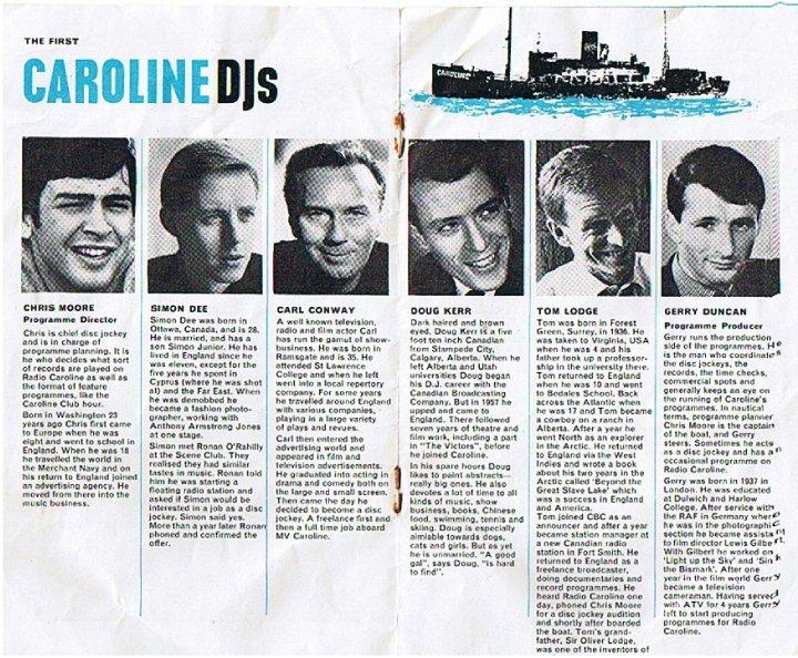 Radio Caroline in the 60s – wirelesswaffle